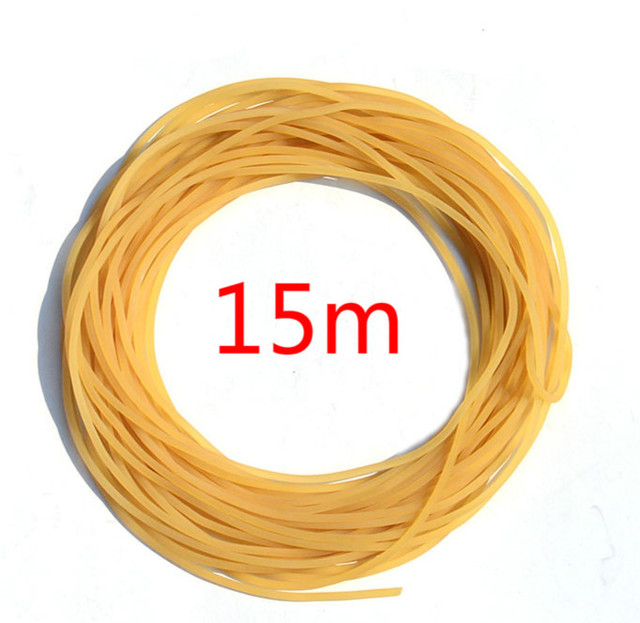 high quality 15m diameter 2mm plain traditional elastic rope tied reinforcement group solid elastic rubber band strapping tool