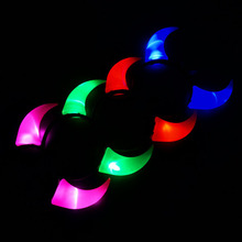 2017 Woman Girl LED Flashing Light-Up Middle Devil Horn Girls Headband Carnival Hair Headwear Wedding Glow Party Supplies