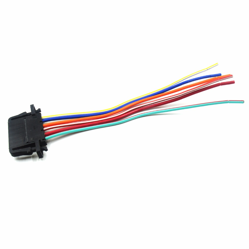 For Skoda Fabia Octavia Seat Alhambra Arisa Ibiza Toledo Electronic  Accelerator Pedal Plug Connector Wiring Harness 3B0972706-in Car Switches &  Relays from ...