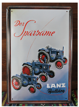 30X20CM farm tractor Vintage Home Decor Tin Sign Wall Decor Metal Sign Vintage Art Poster Retro PlaquePlate