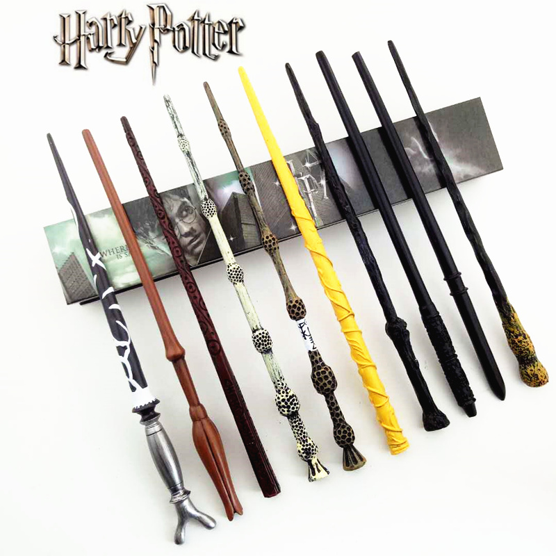 Cosplay Ron Weasley andHermione Jean Granger Snape Role Play Magical Magic Wand Gift In Box Metal Core Harry Potter Magical Wand 2017 new arrival the elder wand harry potter magic wand with light cosplay prop film periphery collection child toy kids toys