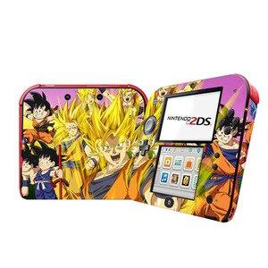 Image 5 - Dragon topu vinil kapak kaplama çıkartması koruyucu için Nintendo 2DS skins konsol çıkartmaları