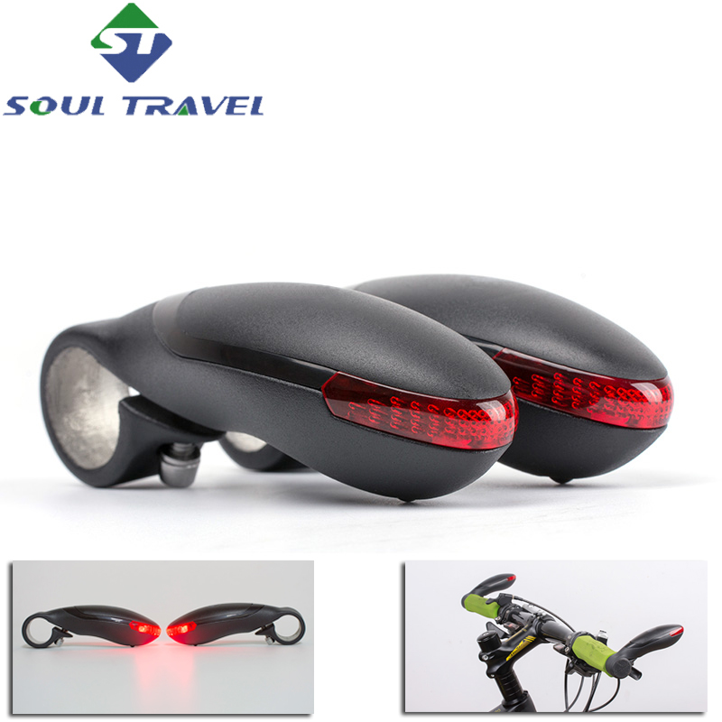 Mountain Bikes Bicycle Handlebar Warning Led Turning Lamp Handle Outfit <font><b>Horn</b></font> Light Cycling Bike Accessories New Promotion