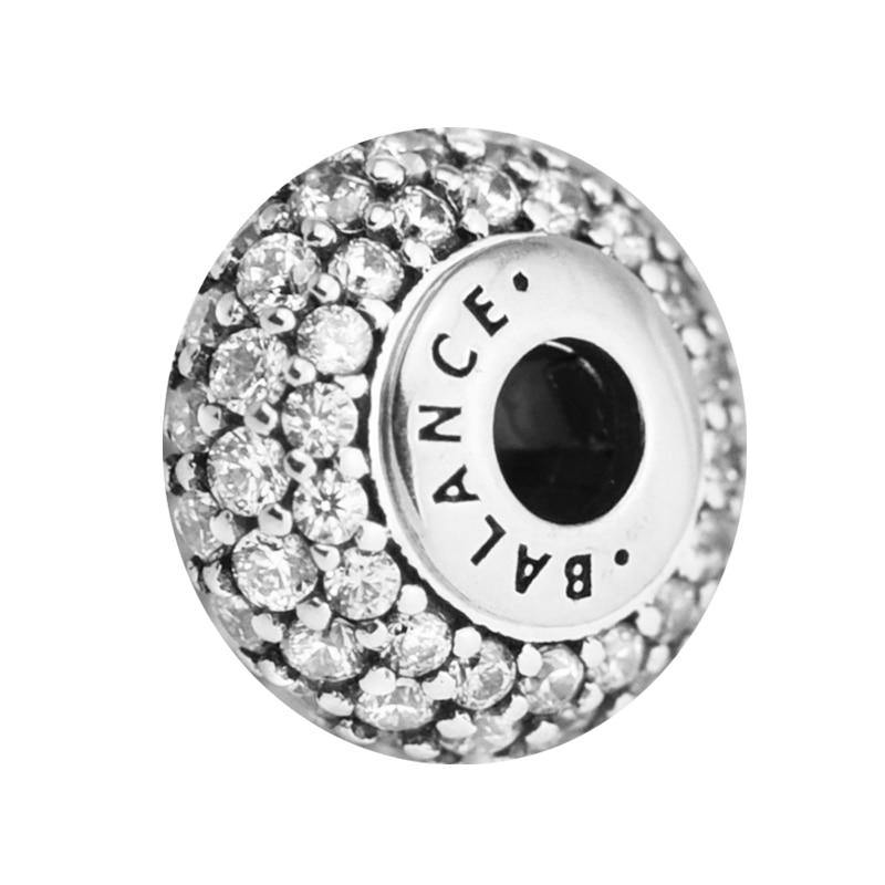 Pandulaso Crystal Balance Essence Beads DIY Jewelry Fit Silver 925 Essence Bracelets Small Hole 925 Sterling-Silver-JewelryPandulaso Crystal Balance Essence Beads DIY Jewelry Fit Silver 925 Essence Bracelets Small Hole 925 Sterling-Silver-Jewelry