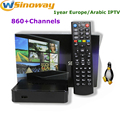 Iptv árabe caja iptv MAG 250 STi7105 incluyen europa 1 año paso servidor IPTV ott tv box MAG250 IPTV ip Francés Americano tv