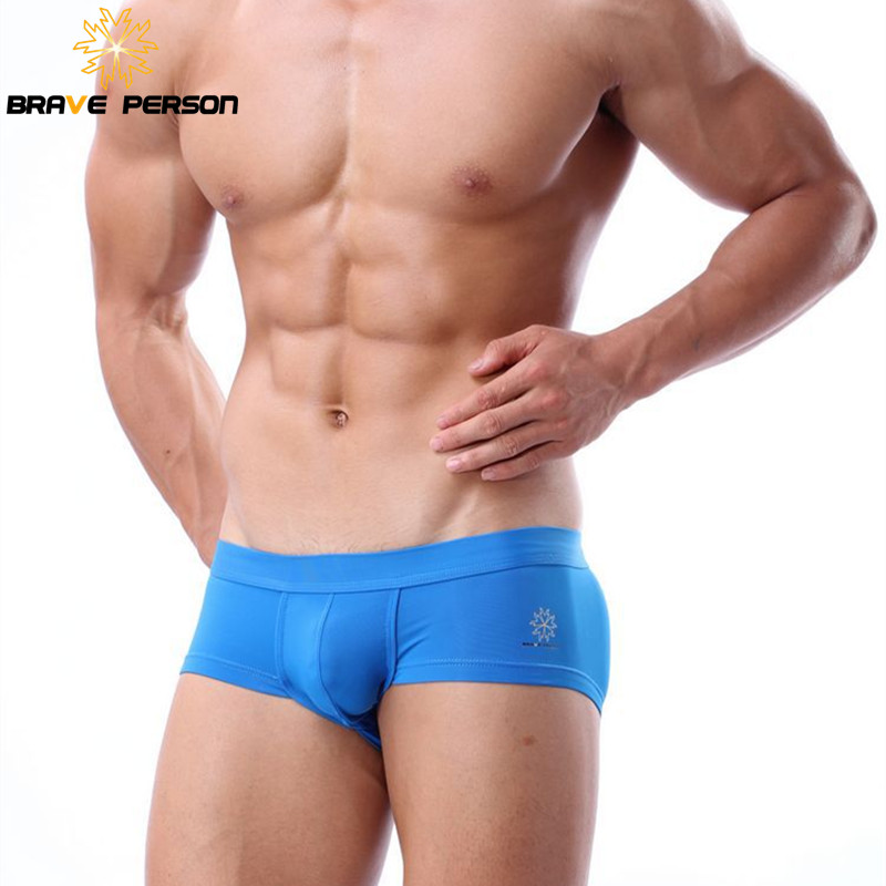 Brave Person Brand Underwear Mens Boxers Sexy High Quality Men Boxer Shorts Panties Trunks for Man Tight Cosy Underpants