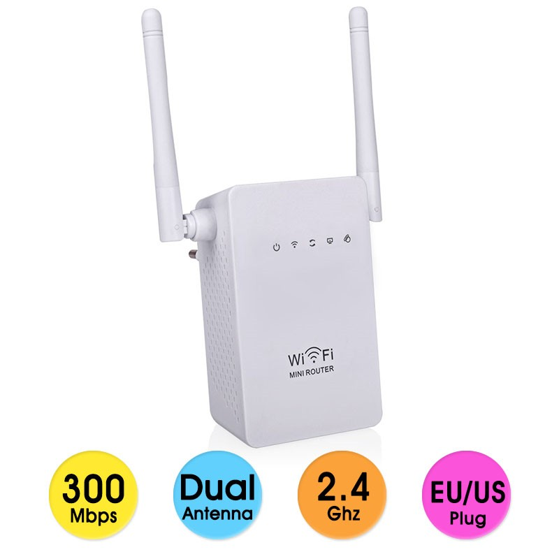 цена на 300Mbps Wireless Wifi Router Wifi Repeater Range Expander Signal Boosters 802.11 b/g/n Network Mini Router Wi-fi WPS Encryption
