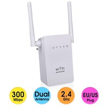 300Mbps Wireless Wifi Router Repeater Range Expander Signal Boosters 802.11 b/g/n Network Mini Wi-fi WPS Encryption