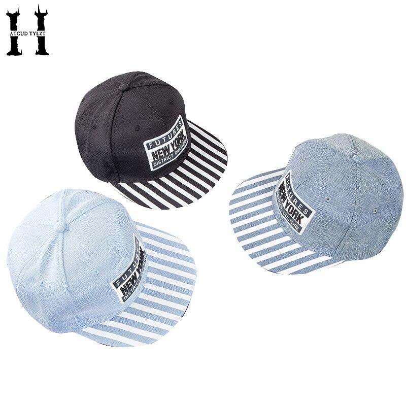 HATGUD TYLZT корейской плиты хлопок буквы шаблон вход для взрослых Бейсбол шапки летом на открытом воздухе зонтик шапки хип-хоп Шапки регулируем...