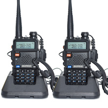 2pcs Baofeng UV-5R Walkie Talkie 128 Dual Band UHF&VHF 136-174MHz & 400-520MHz Baofeng UV 5R Portable Radio 5W Two Way Radio(China)