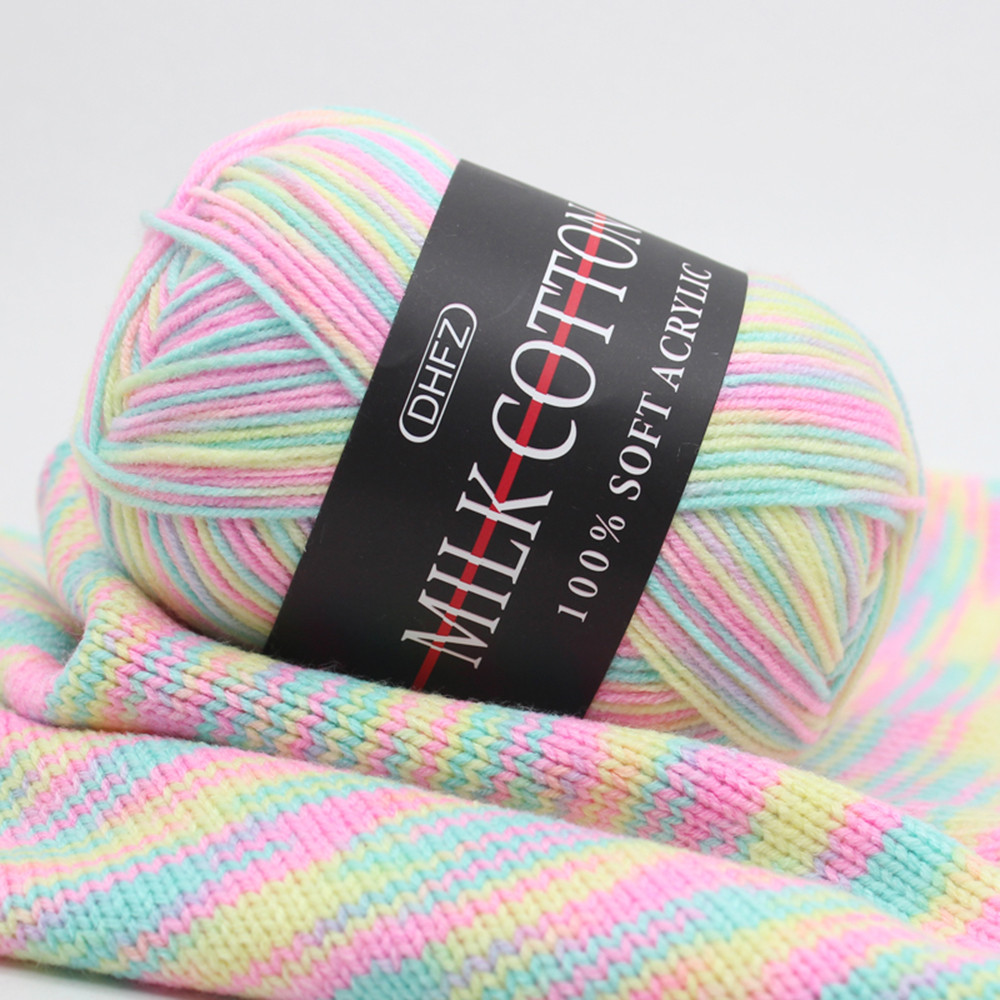 Hot Sale Colorful Hand Knitting 50g Knitting Yarn Crochet