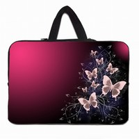 Butterfly 15 Female Notebook Laptop Bags For Women Durable Neoprene Inner Sleeve Case For Apple Macbook