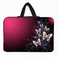 Butterfly 15 Female Notebook Laptop Bags For Women Durable Neoprene Inner Sleeve Case For Apple Macbook