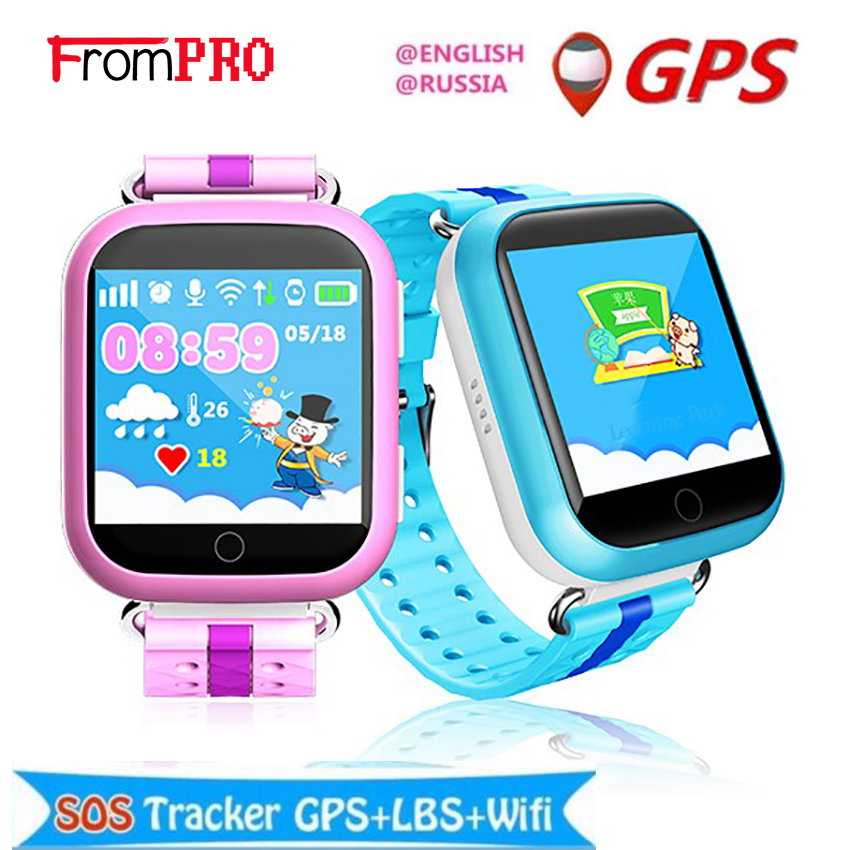 FROMPRO GPS Smart Watch Q750 Q100 Baby Smart Watch With 1.54inch Touch Screen SOS Call Location Device Tracker for Kid Safe