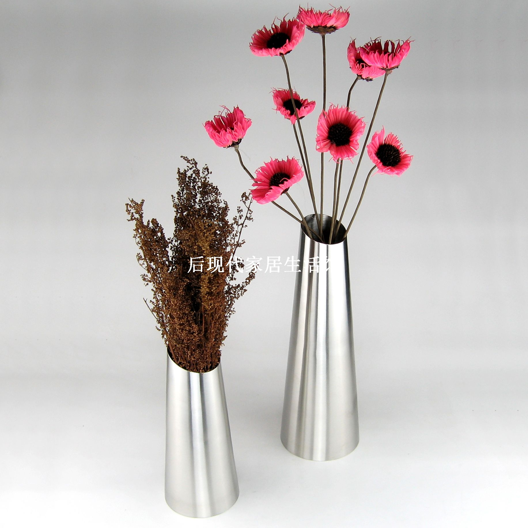 compare prices on stainless steel vases online shoppingbuy low  - free shipping exquisite stainless steel vase home decor flower pot optional sizes big and small