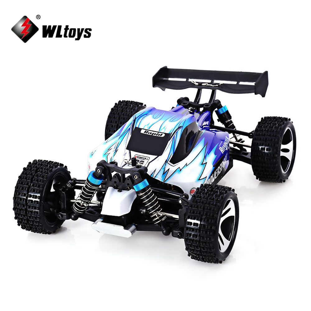 Wltoys A959 RC Car High speed Off-Road 2.4G Radio Remote Control Model Scale 1:18 Rally Shockproof Rubber wheels Buggy Truck wltoys a202 1 24 electric 4wd off road buggy