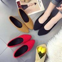 2019; Новинка; женская обувь с бархатом; коллекция 2017 года; сезон осень-зима; Корейская версия; прогулочная обувь; 7YJ1-7YJ6