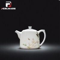 Jingdezhen Blue and White Porcelain Tea Set Hand Painted Flower and Bird Teapot Puer Kung Fu Tea Set Ceramic Teapot Teaware Gift