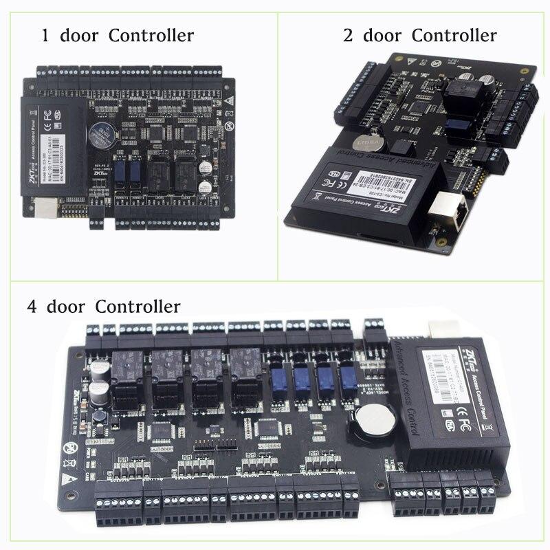 IP панель управления доступом к двери ZKTeco C3 100/200/400 решения безопасности контроль доступа 30000 пользователей большой емкости