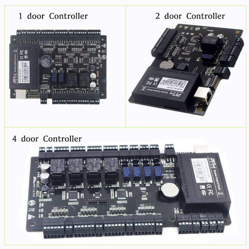 IP-based Door Access Control Panel ZKTeco C3-100/200/400 security solutions access control 30,000Users Big Capacity