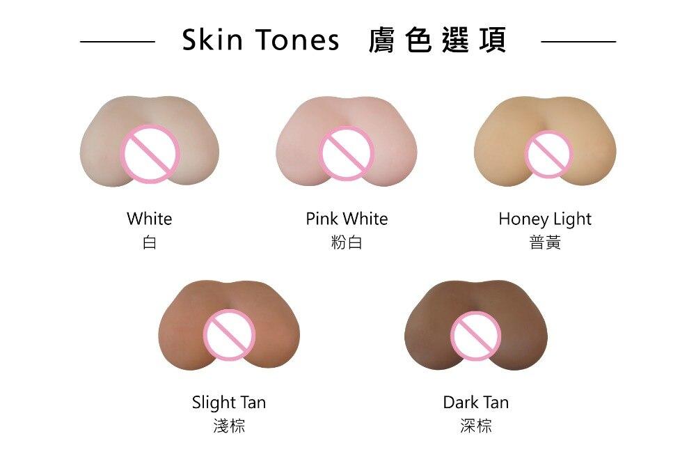 Skin tone options  ()-()
