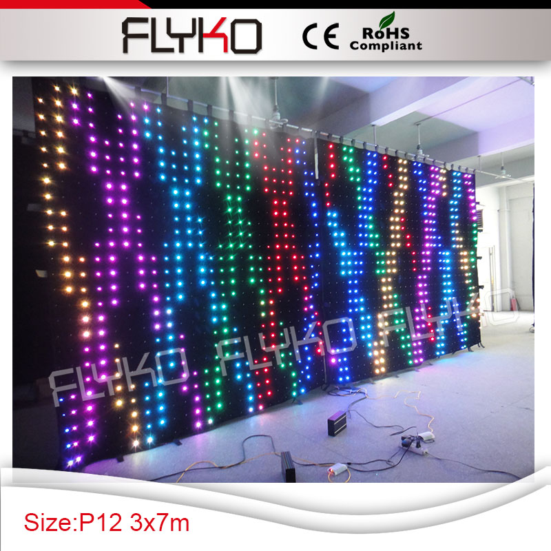 latest technology in lighting. free shipping 3m7m led wall pixel 120mm best price latest technology flexible led video in lighting