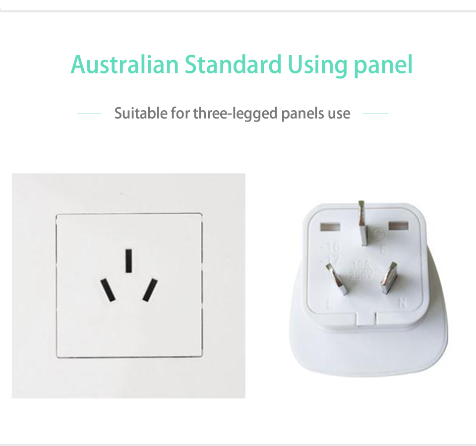Australia Power Socket Us 1 99 23 Off 1pc 10a 250v Electric Plug Power Socket Adapter Australia Travel Adapter Eu Us To Au Socket Ac Power Charger Converter In