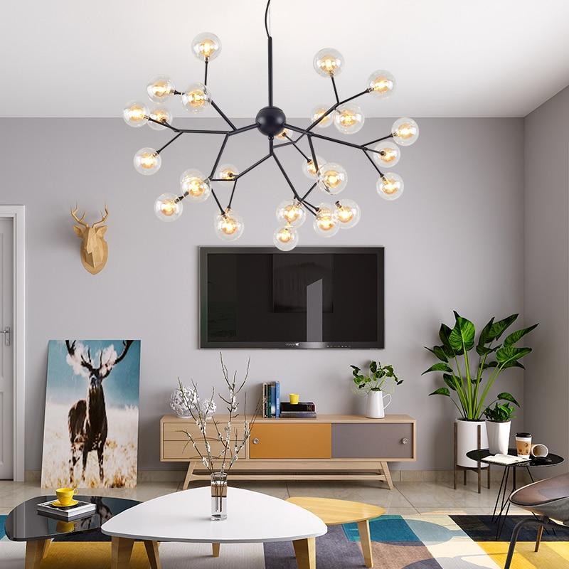 Buy LOFT Modern BLACK Lustre chandeliers Retro  Gold Chandelier Lighting for only 166 USD