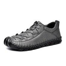 Luxury Brand Men's Casual Shoes Soft Moccasins Genuine Leather Men Flats Zapatos Hombre Fashion Men Outdoor Hiking Shoes 2A недорго, оригинальная цена