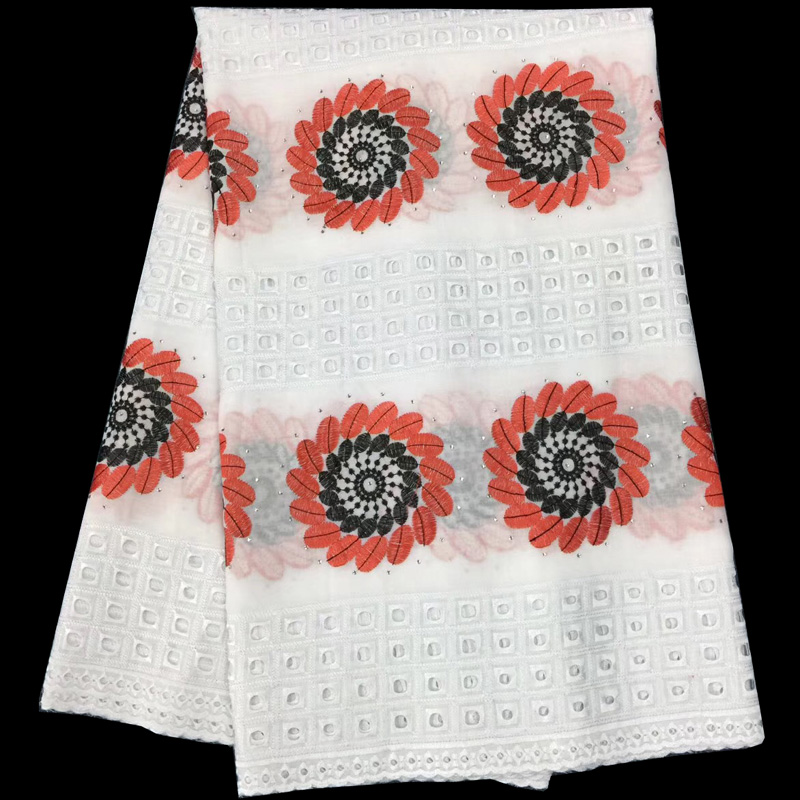 Free shipping (5yards/pc) New design African cotton lace fabric with holes design embroidered Swiss voile lace for dress CLS184Free shipping (5yards/pc) New design African cotton lace fabric with holes design embroidered Swiss voile lace for dress CLS184