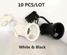 10 шт/лот высокое качество 25 Вт cob led 3 линии Трековый свет