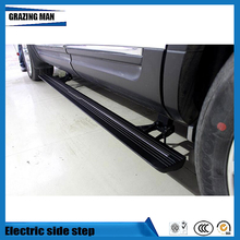 High quality aluminium alloy Flexible side step Electric pedal running board for Edge 2015