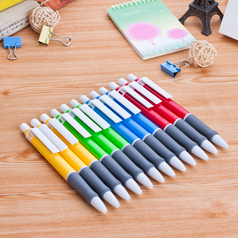 40 pcs/lot Creative Novelty Press Style Ballpoint Ball Point Pen Office School Supplies Learning Stationery Promotional Gifts