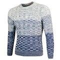 Blusas homens 2016 Mens Camisola do Pulôver dos homens de Lazer Da Moda Bater Cena Inverno Camisola Masculina Camisola dos homens