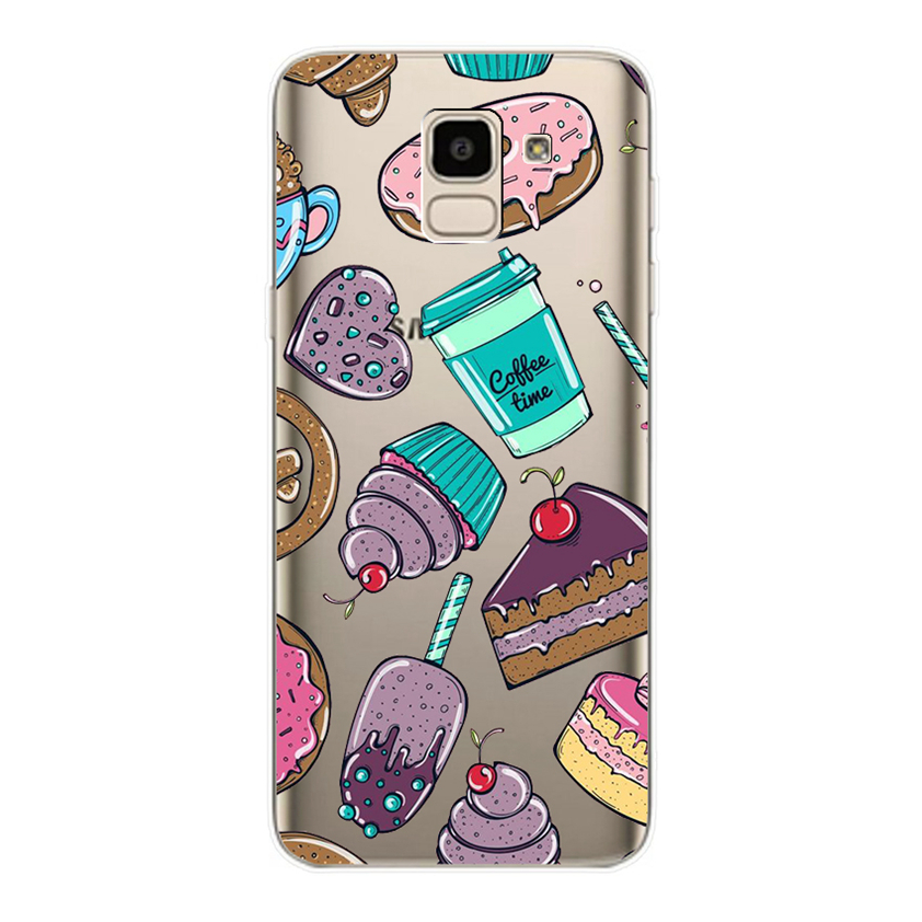 For Samsung Galaxy J6 2018 Case 5 6 39 Soft Silicone Cover Cases for Samsung J 6 Plus 2018 6 0 quot j600 J610 F SM j600f Fundas Coque in Fitted Cases from Cellphones amp Telecommunications