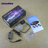 Anti Collision Laser Fog Lights For Cadillac SRX 2011 2014 Car Rear Distance Warning Alert Line