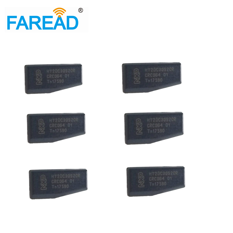 Free Shipping  X100pcs 125KHZ  RFID Car Key Chip OEM ID46 Blank 7936AS  Transponder Chip