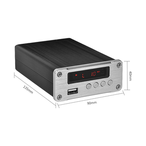 Image 2 - PJ.MIAOLAI SP3306AL APE Lossless Music Player HiFi Fever Digital Amplifier Optical Coaxial Digital Decoder Output Amplifier