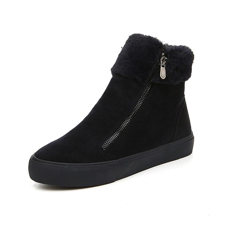 New winter boots font b Women b font snow boots 2017 winter warm shoes Hot font