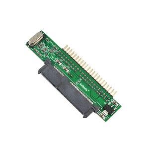 Image 5 - Kebidu Adaptador de disco duro SATA 1,5 hembra a IDE 2,5 macho HDD, 2,5 Gb/s, 44 Pines, para DVD, CD, PC, descontar
