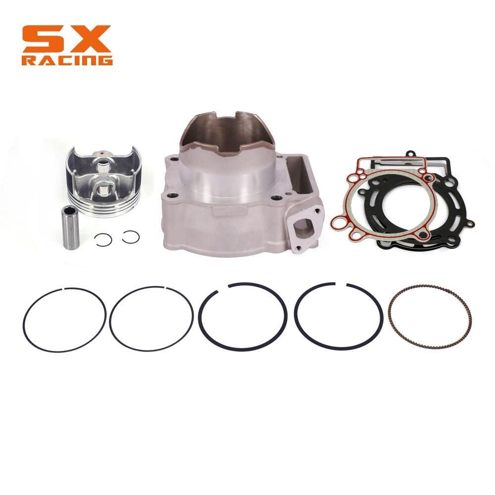 Bloc-cylindres + Piston + anneau + Kit de joints accessoires pour Bosuer KAYO Xmotor Apollo 250CC ZONGSHEN changement NC250 à NC300