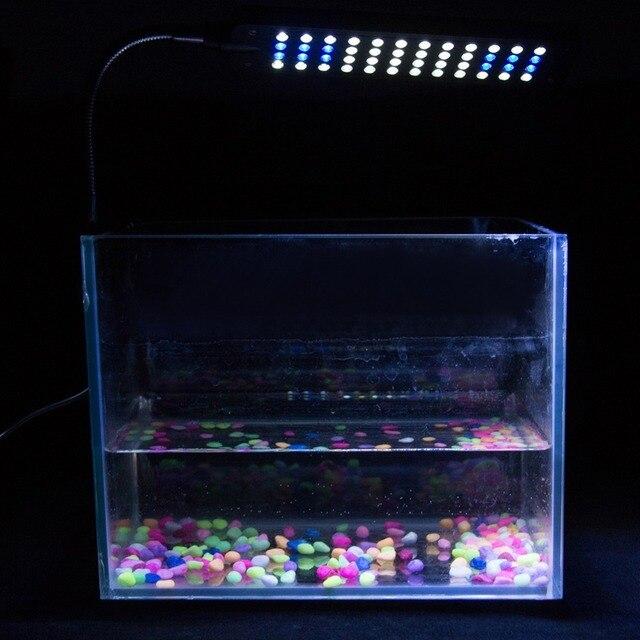 Прочный гибкий светодио дный 24/48 светодиодный свет аквариума для водных растений Гибкая голова рука клип Fish Tank освещение лампы для дома #291058