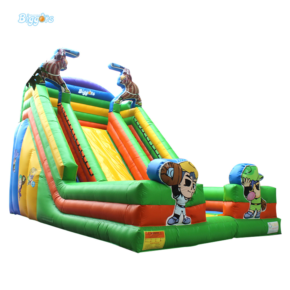 Commercial Grade Giant Funny Inflatable Slide Water Slide For Sale With Factory Price funny inflatable slide water slide for sale