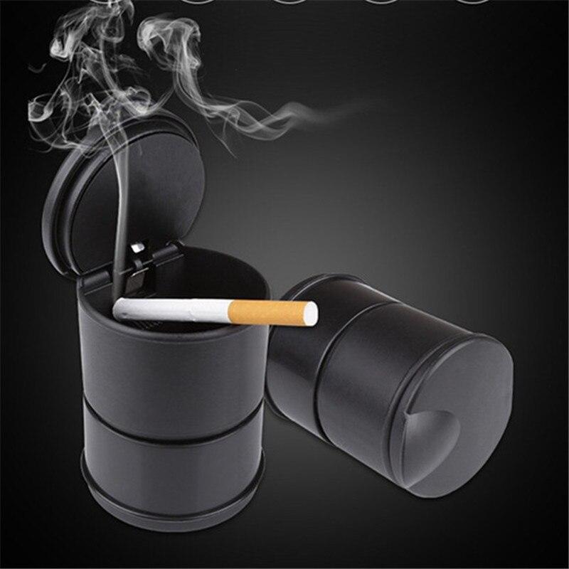Ashtray For Car Truck Plastic Cigarette Smoke Car Ashtray Smokeless Cigarette Holder Car Accessories Auto Ashtray 2019