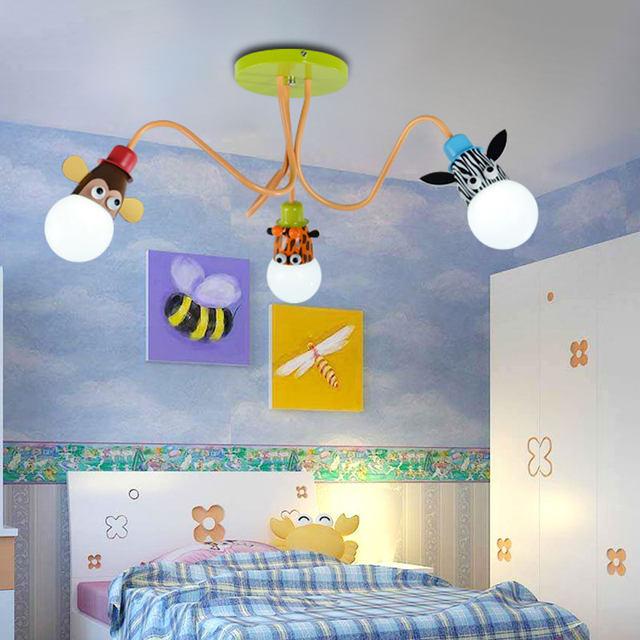Tienda Online Historieta creativa lámpara de techo para niños 3 ...