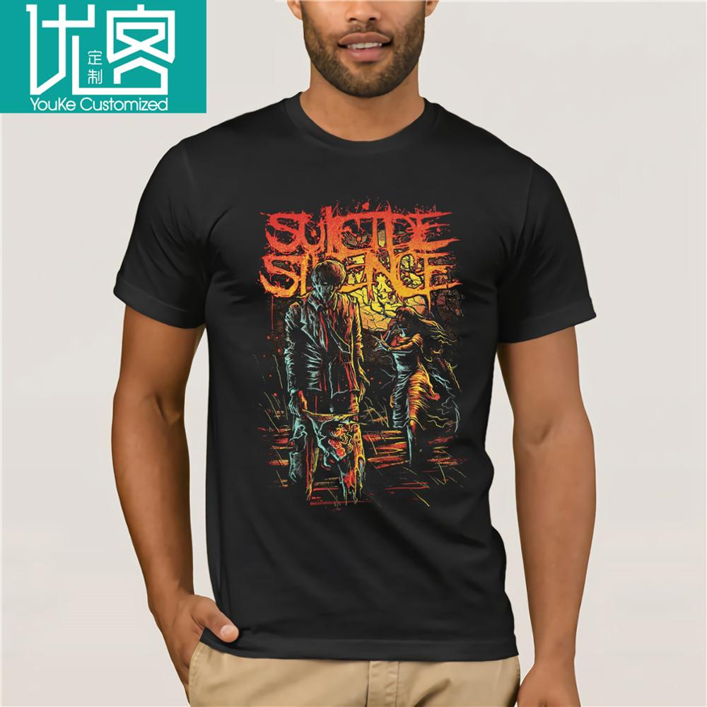 CHELSEA GRIN GIRL FACE  METALCORE SUICIDE SILENCE NEW BLACK LADY T-SHIRT