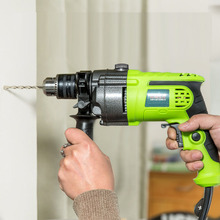 220v Mini Pistol Drill Multi-function Electric Stone Rotary Hammer Wall Impact Drill Wood Drilling Machine hammer drill electric redverg rd rh1500 power 1500 w drilling in concrete to 36mm антивибрационная system