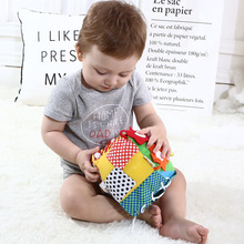 Montessori Toys Educational Toys for Children Early Learning Baby Cognitive Development Learn Zip Snap Button Intelligence Toy
