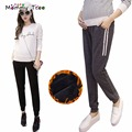 Winter Warm Maternity Clothes Casual Harem Pants for Pregnant Women Brand Desingers Black Maternity Trousers Premama Clothing