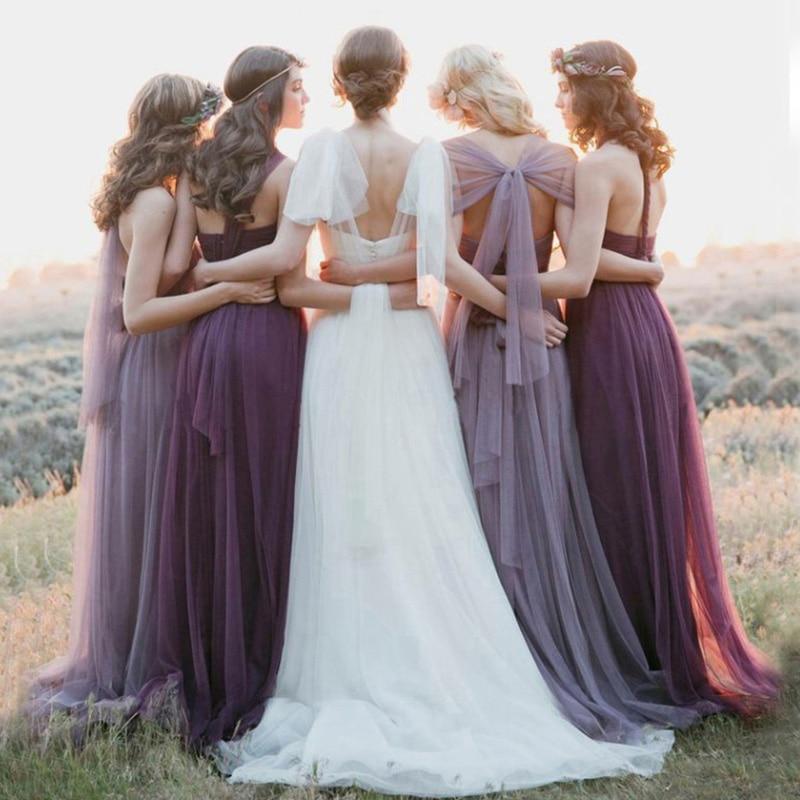 US $26.39 12% OFF|P538 Women New Fashion DIY Convertible Dress Long  Sleeveless Party Dresses Bandage Dress Women Plus Size Vestidos De Festa-in  ...